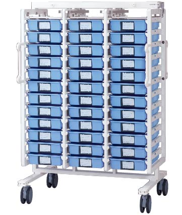 Rotation Cart(For 4-part trays, taper trays, straight trays)